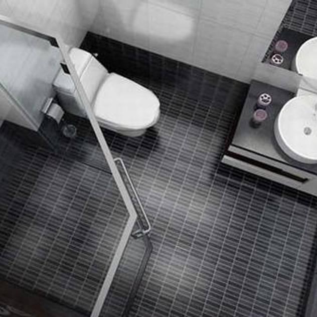 Phòng tắm với nội thất đơn giản sang trọng Phòng tắm phong cách châu Á bởi Công ty TNHH TK XD Song Phát Châu Á Đồng / Đồng / Đồng thau