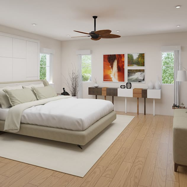 Casa Allea Master's Bedroom: modern Bedroom by Constantin Design & Build