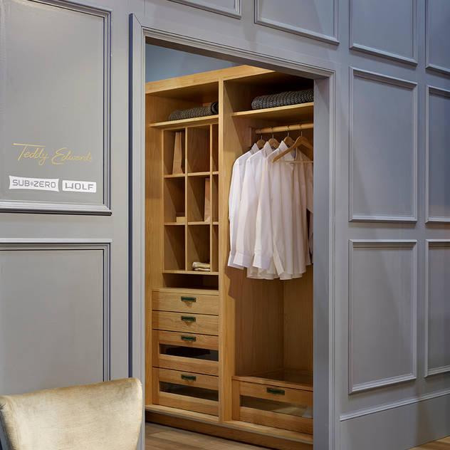 Grand Designs Live 2015 Phòng ngủ phong cách đồng quê bởi Teddy Edwards Đồng quê