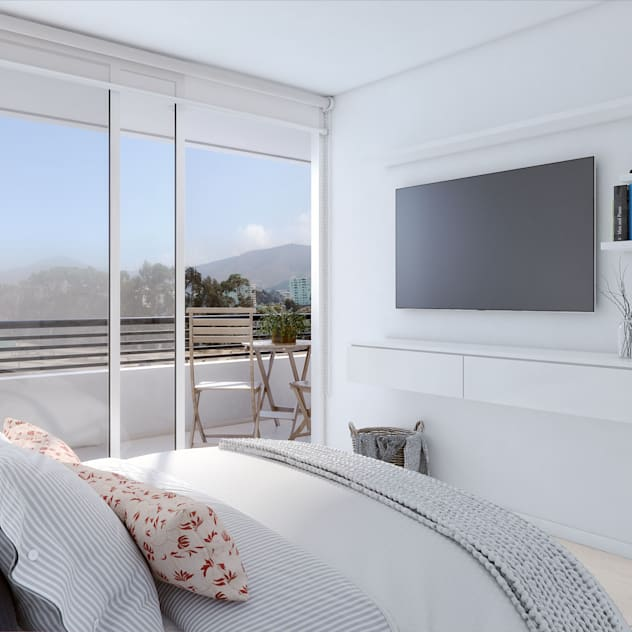 Xline 3D Digital Architecture Modern style bedroom