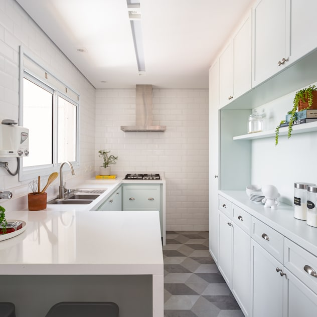 Cozinha: Cozinhas  por Duplex212 - Arquitetura e Interiores
