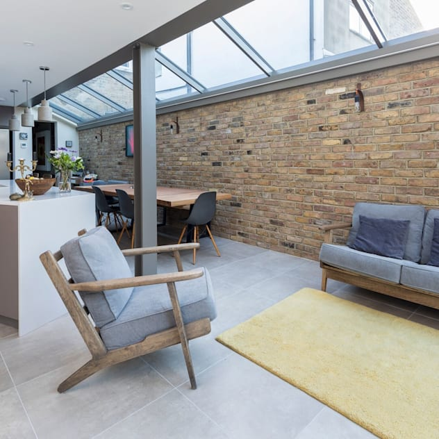 Living Space Modern living room by Resi Architects in London Modern