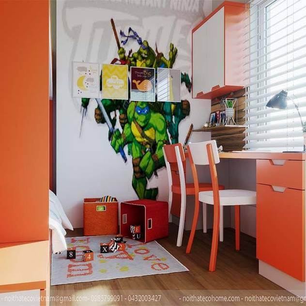 Phòng ngủ con Phòng trẻ em phong cách hiện đại bởi homify Hiện đại