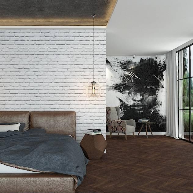 DS Desıgn Studıo – Yatak odası tasarım: modern tarz Yatak Odası