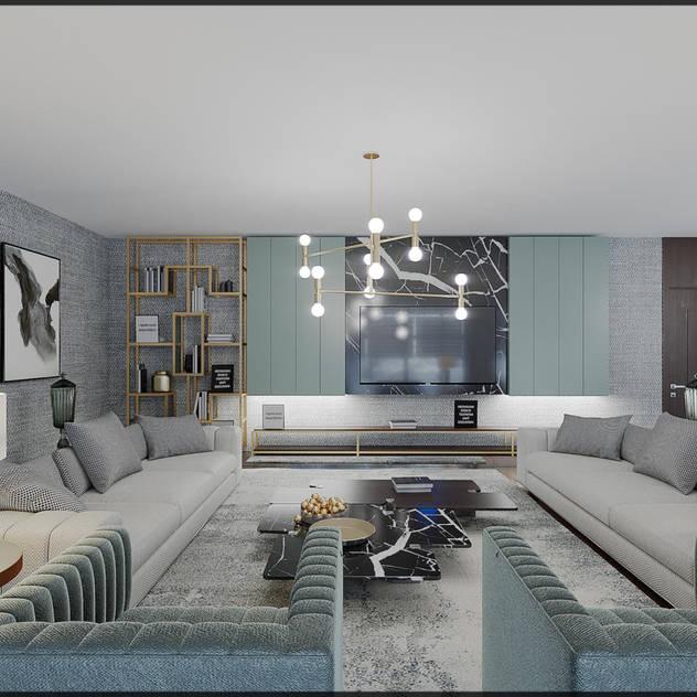 modern Living room by Nuevo Tasarım