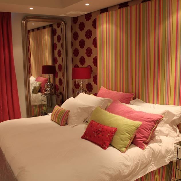 Residential Clifton Lean van der Merwe Interiors Eclectic style bedroom