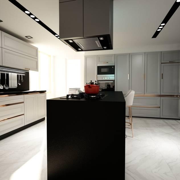 Cucina moderna di ANTE MİMARLIK Moderno
