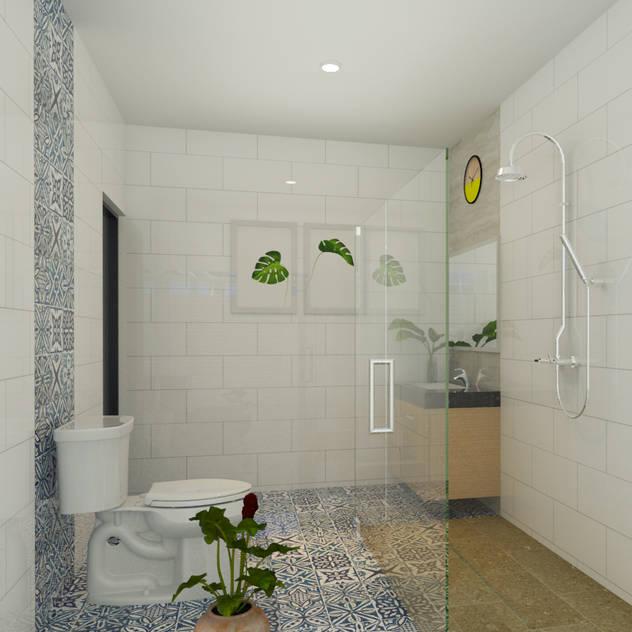 BSB Interior: Kamar Mandi oleh Arsitekpedia, Minimalis