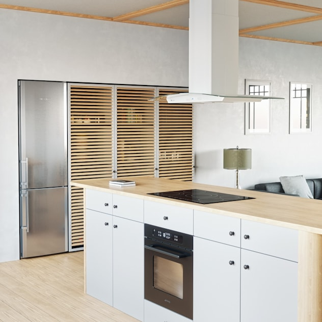 Cucina minimalista di GLOBALO MAX Minimalista
