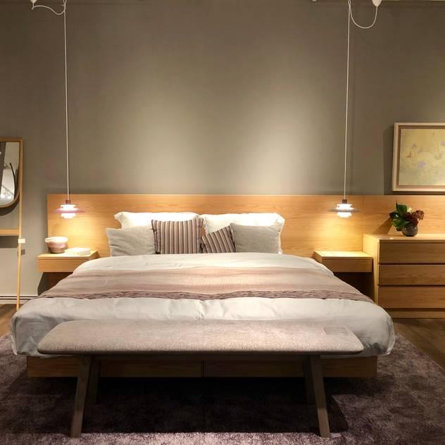 Phòng ngủ phong cách Bắc Âu bởi homify Bắc Âu