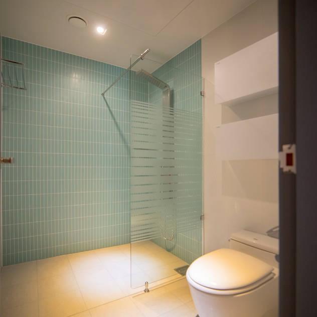 [주거] 송도그린애비뉴: 제시카디자인그룹 의 욕실