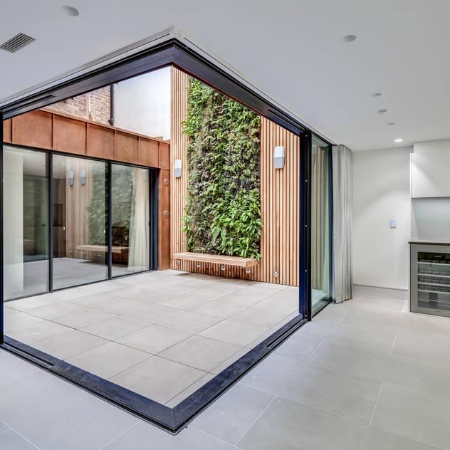 Welbeck Street bởi IQ Glass UK Hiện đại Nhôm / Kẽm