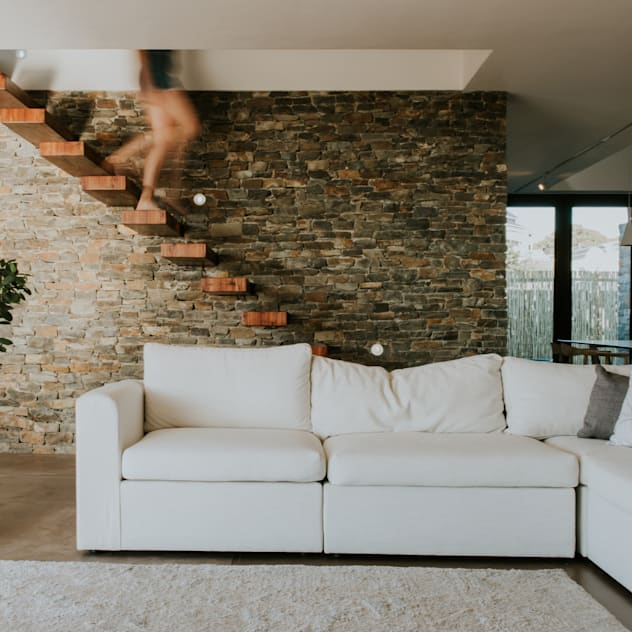 5 Fin Whale Way SALT architects Modern living room