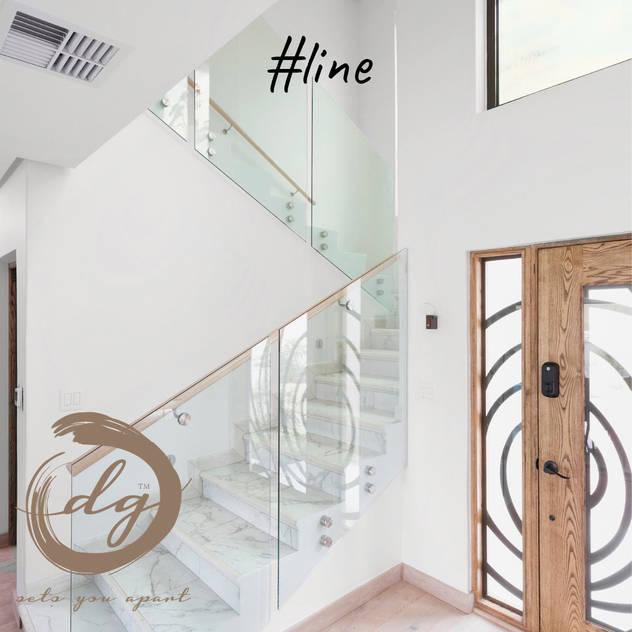 Line Deborah Garth Interior Design International (Pty)Ltd Stairs