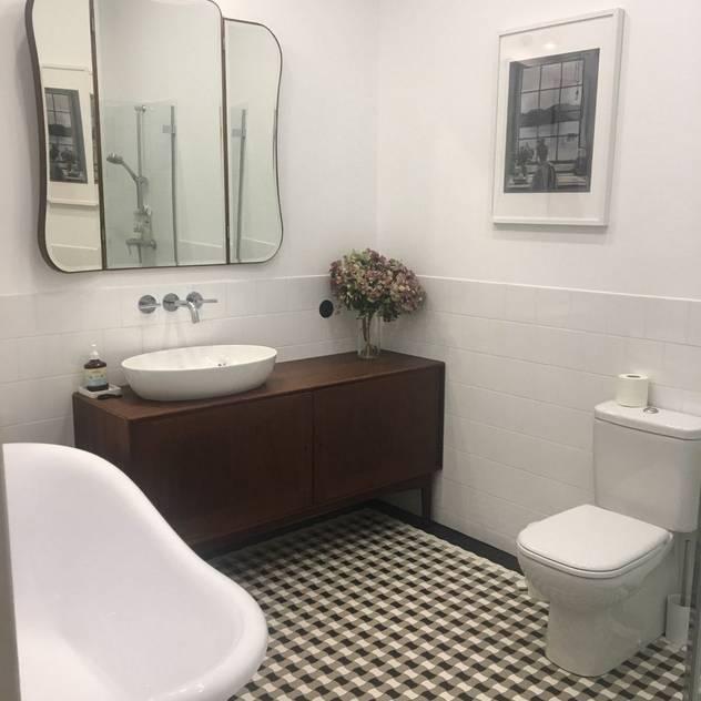 Gorseciki - oryginalne płytki z granitogresu Klasyczna łazienka od Cerames Klasyczny