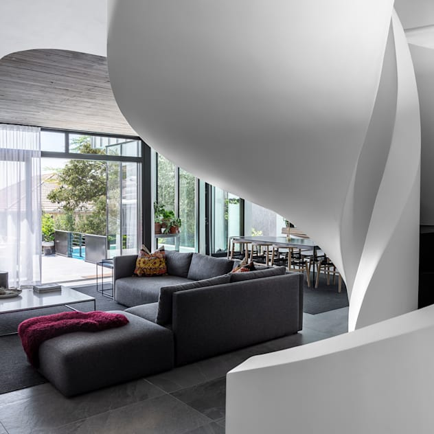 SM 37 GSQUARED architects Living room