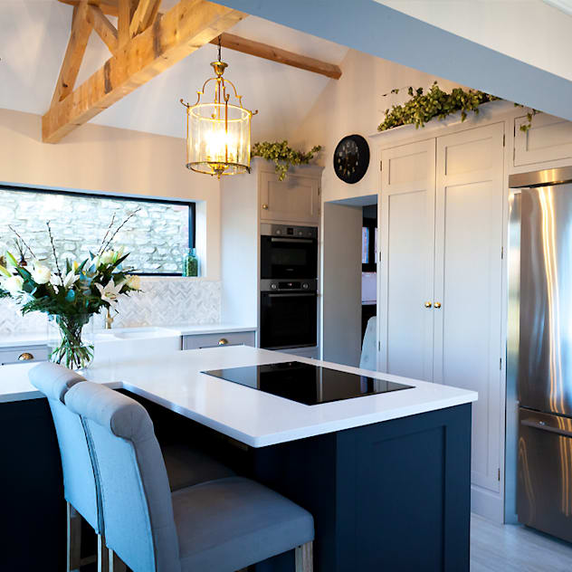 Stunning Cogenhoe Kitchen by The White Kitchen Company Classic