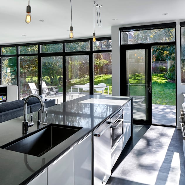 Back 2 Back KUBE architecture Modern Kitchen