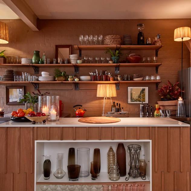 Apartment Hout Liam Mooney studio Kitchen