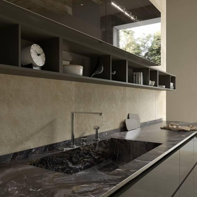 Kitchen Model - HD23 by Eurocasa Minimalist