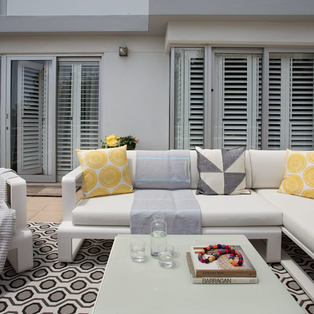 Atlantic Views - Terrace Jenny Mills Architects Patios