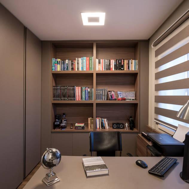 Bibiana Menegaz - Arquitetura de Atmosfera Study/office