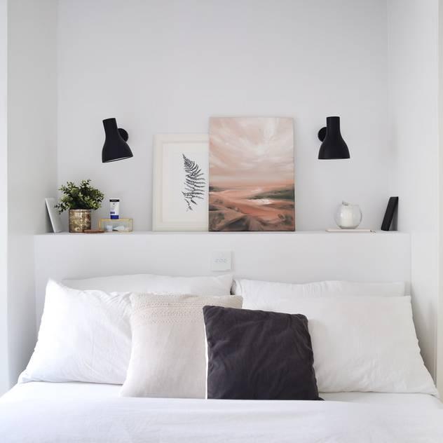 Bedroom   Home renovation in North London The White Interior Design Studio Small bedroom