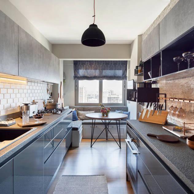 Cucina moderna di ESRA AŞIKOĞLU Moderno
