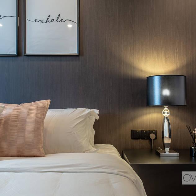 Telok Blangah Modern style bedroom by Ovon Design Modern
