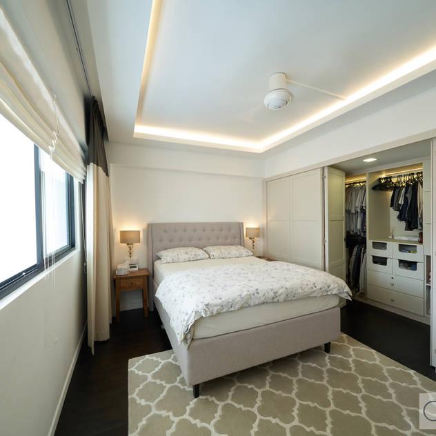 Bedok Reservoir Rd Modern style bedroom by Ovon Design Modern