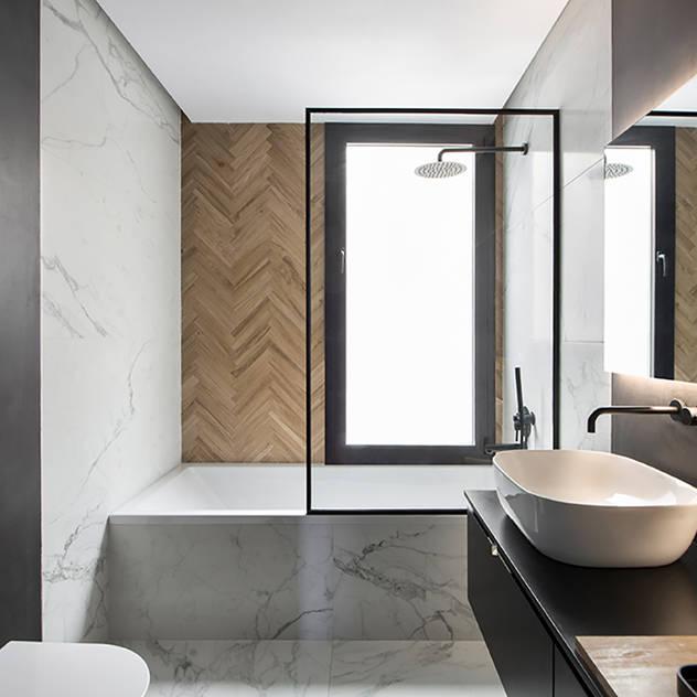 Phòng tắm phong cách hiện đại bởi Egue y Seta Hiện đại
