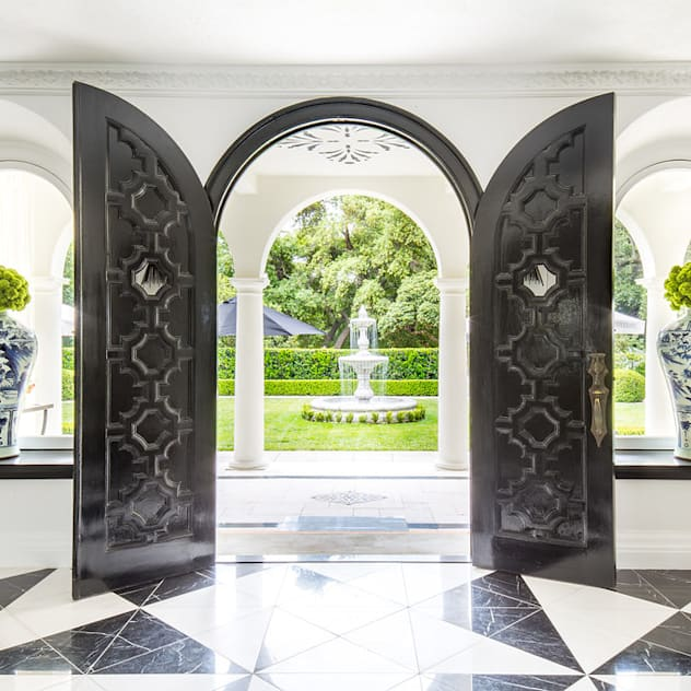 2018 Showcase House of Design – Grand Foyer Classic style doors by Amy Peltier Interior Design & Home Classic