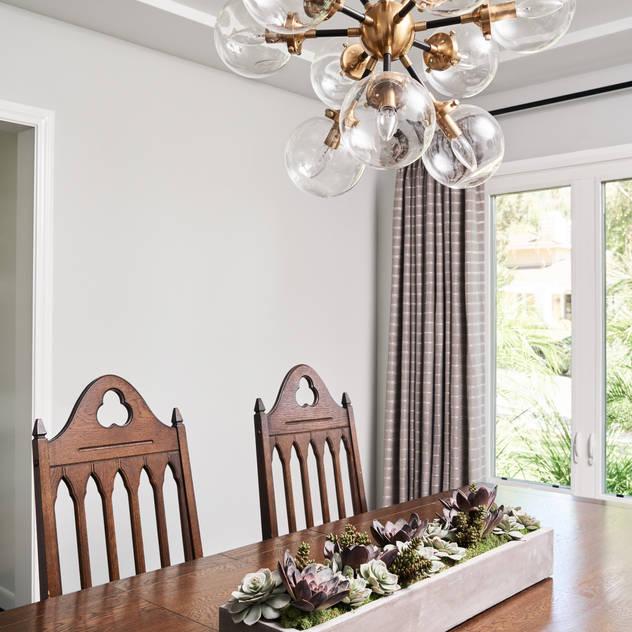 La Canada Family Home Amy Peltier Interior Design & Home Modern Dining Room