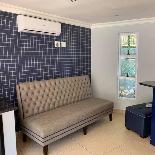 Custom bench CS DESIGN Media room