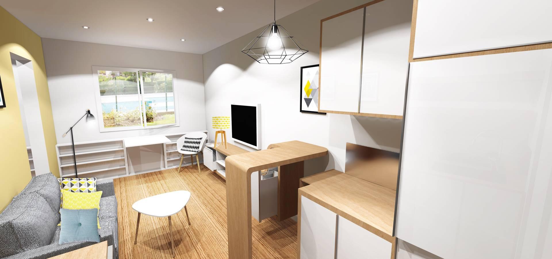 studio de gosni design homify. Black Bedroom Furniture Sets. Home Design Ideas