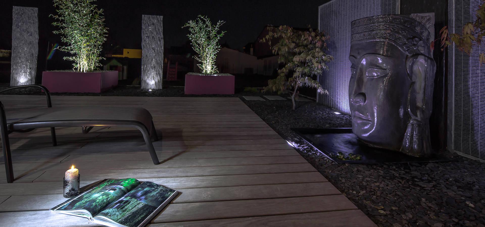 jardin zen by art bor concept homify. Black Bedroom Furniture Sets. Home Design Ideas