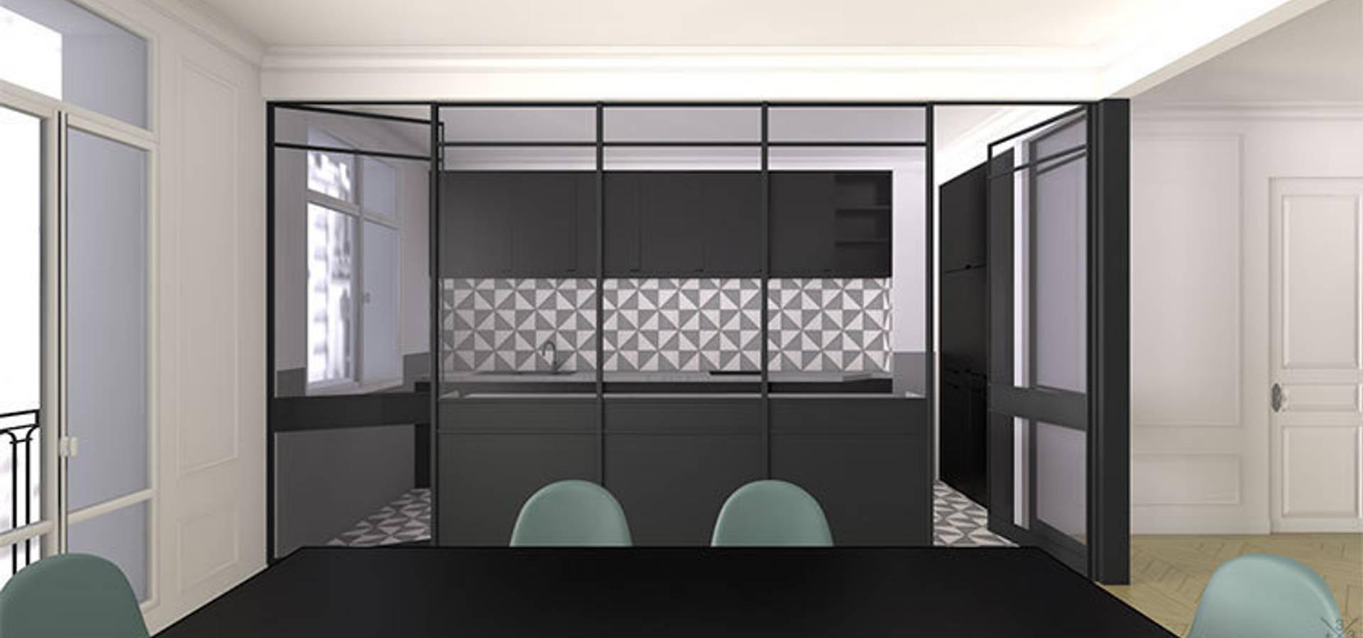 Rénovation Appartement Haussmannien - Champ de Mars von + ...