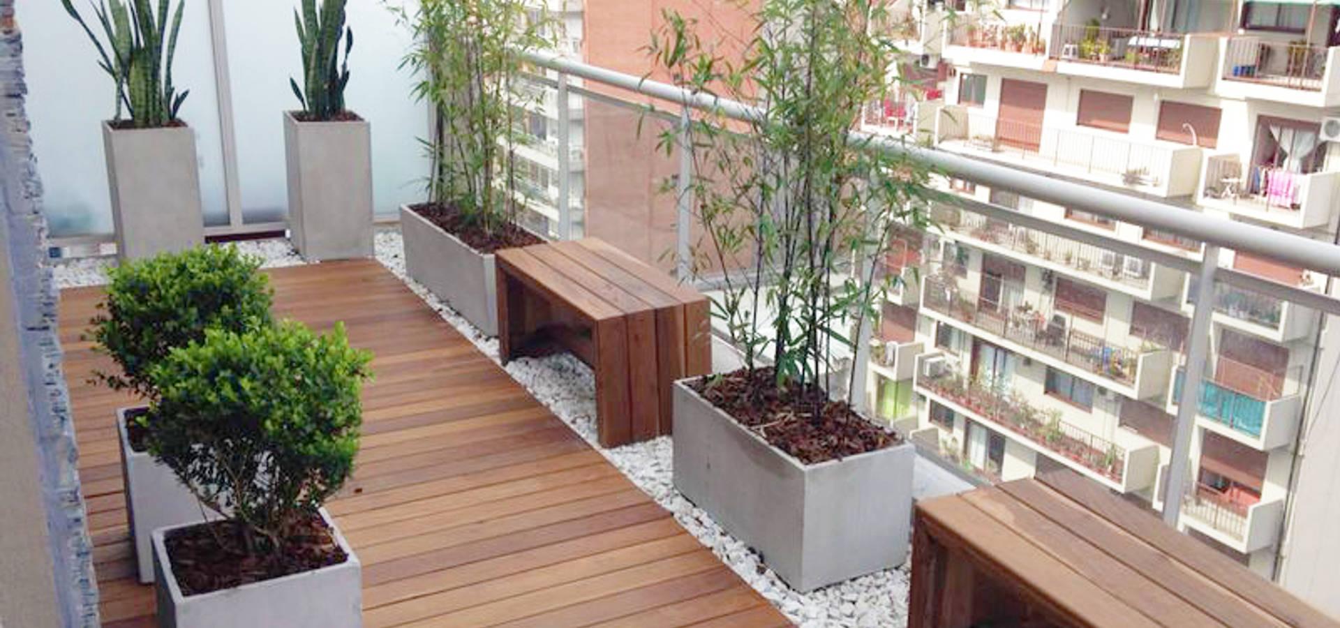 Balcon Terraza Moderno von Estudio Nicolas Pierry: Diseño en ...