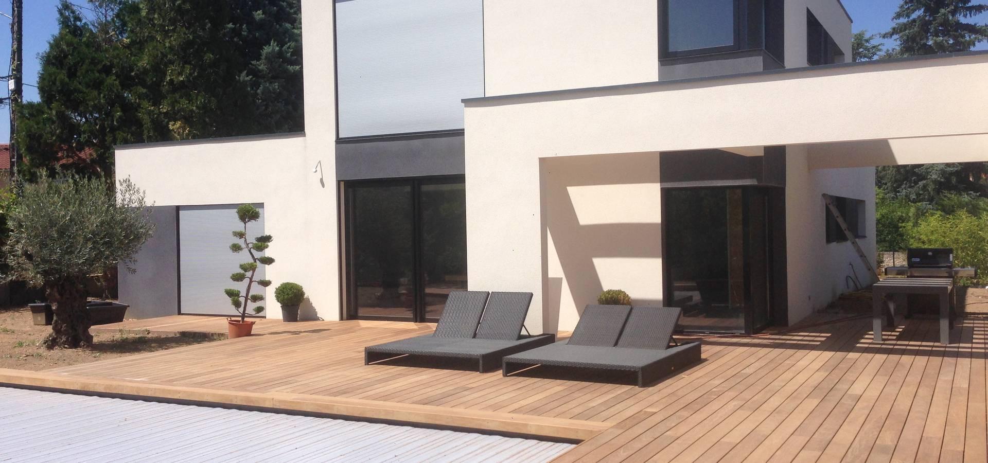 Terrasse En Bois Exotique belle terrasse et plage de piscine en bois exotique ipé