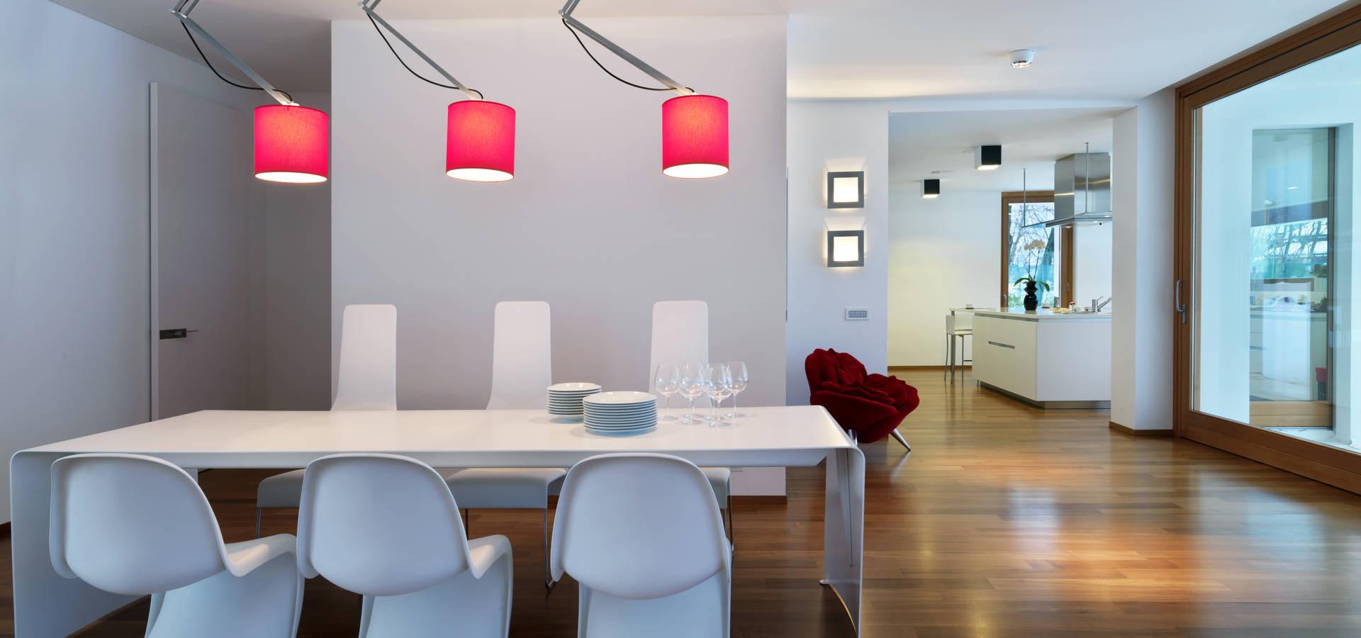 Horizontal space por damilano studio architects homify - Residence horizontal space damilano studio ...