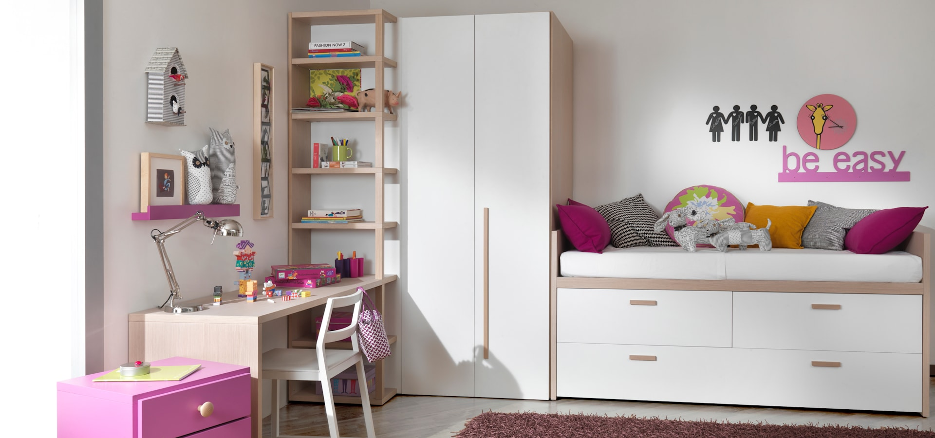 moderner stauraum im kinderzimmer par mobimio r ume f r kinder homify. Black Bedroom Furniture Sets. Home Design Ideas