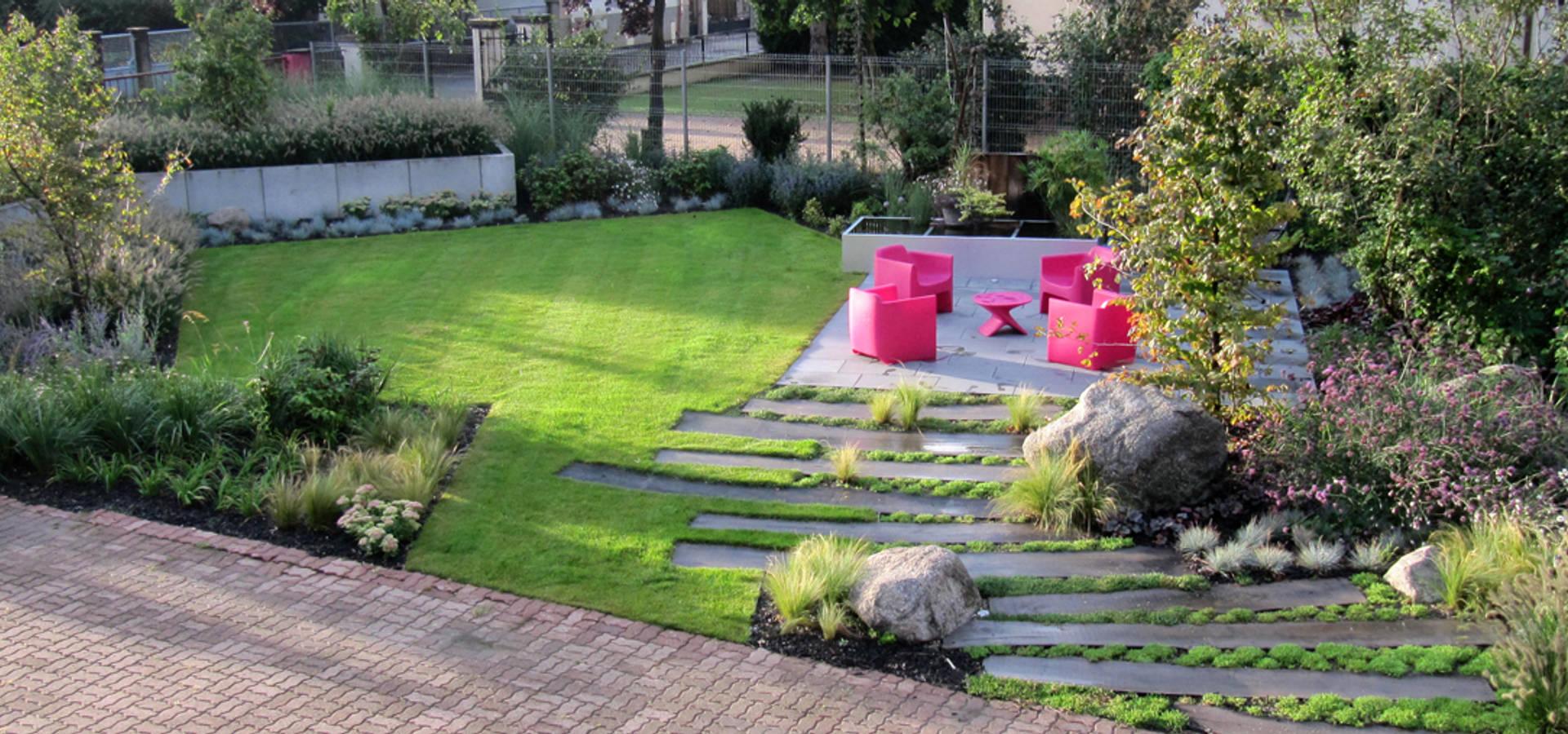 Jardin de particulier de schaedele paysagiste homify for Jardin paysagiste photo