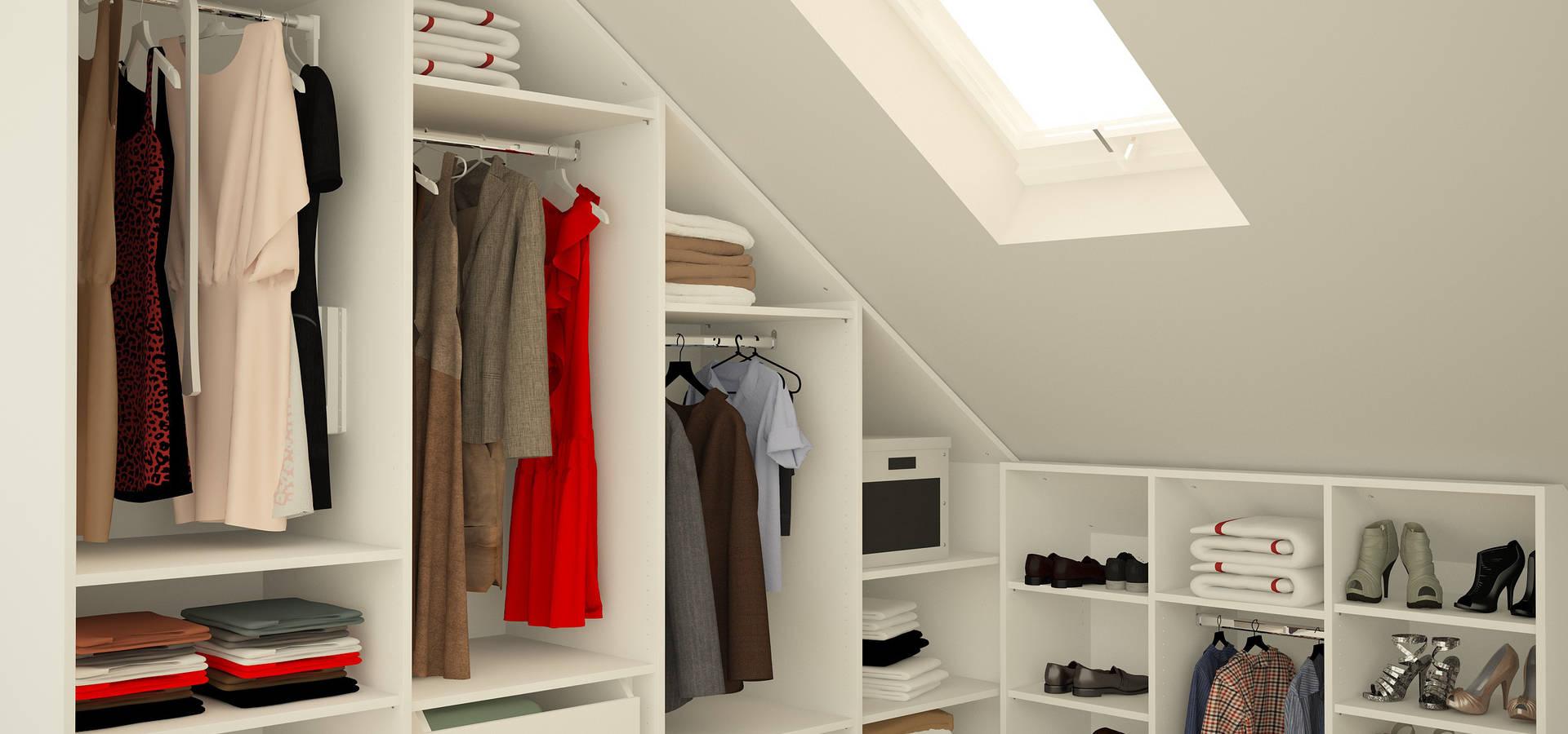 begehbarer kleiderschrank unter schr ge de meine. Black Bedroom Furniture Sets. Home Design Ideas