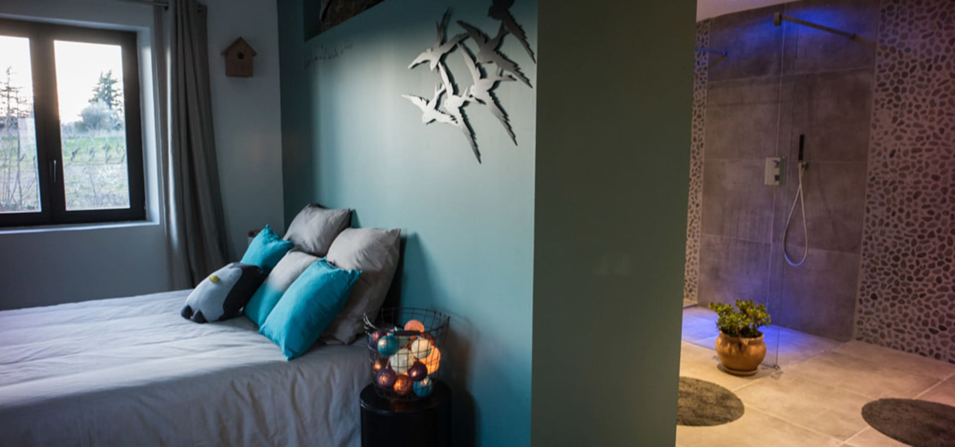 Chambre Ouverte Salle De Bain chambre salle de bain semi- ouverte par ms fabrique | homify