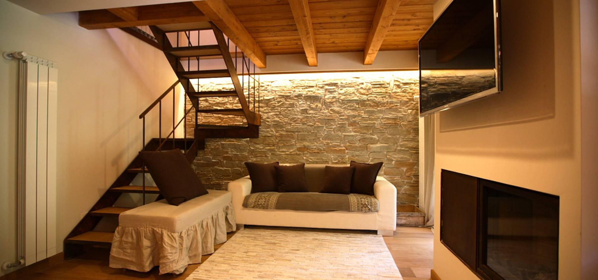 Architettura E Design casa in montagna by studio di architettura e design seregno