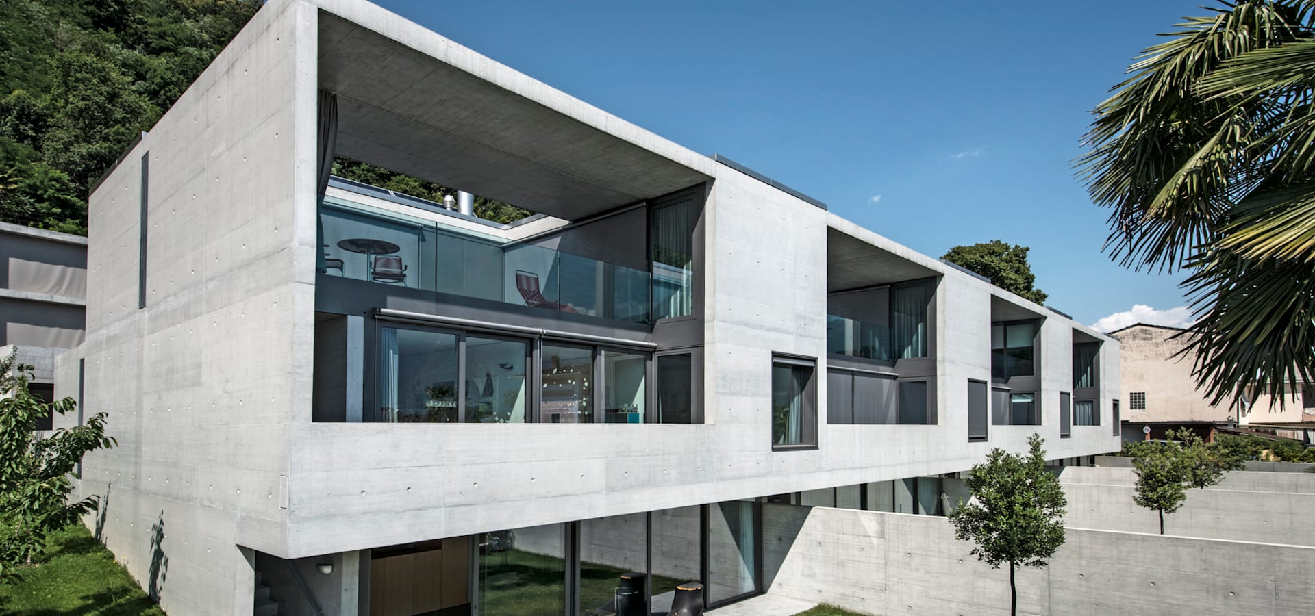 Case alle vigne di michele arnaboldi architetti sagl homify for Case di architetti