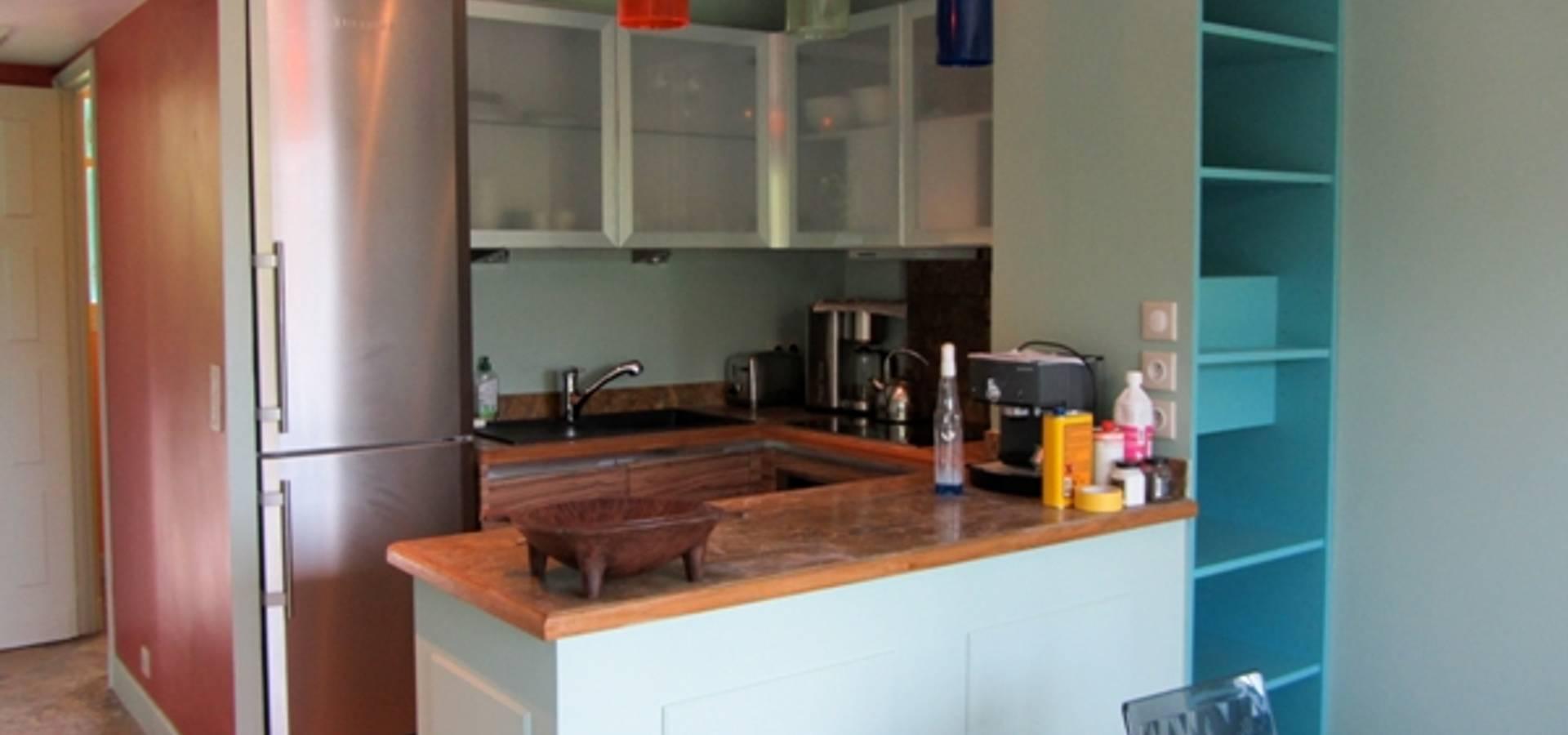 appartement de 50m saint jean cap ferrat von notes de styles nancy homify. Black Bedroom Furniture Sets. Home Design Ideas