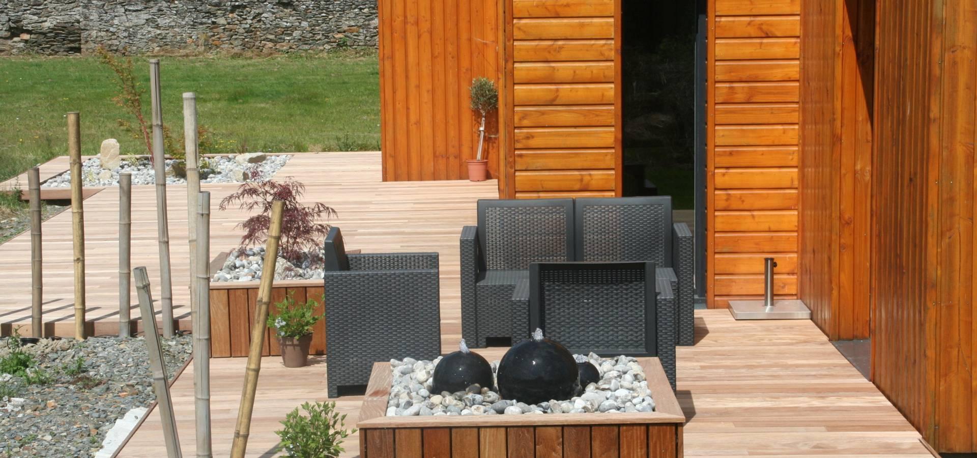 parterre avec ardoise parterre avec cailloux la galerie photos les jardins de bastide. Black Bedroom Furniture Sets. Home Design Ideas