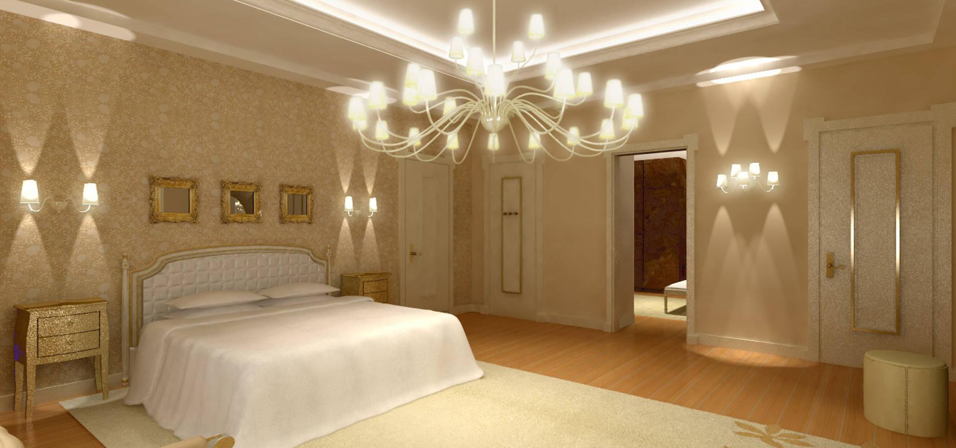 Camera da letto orientale di TEXAL di Bernecoli Matteo | homify