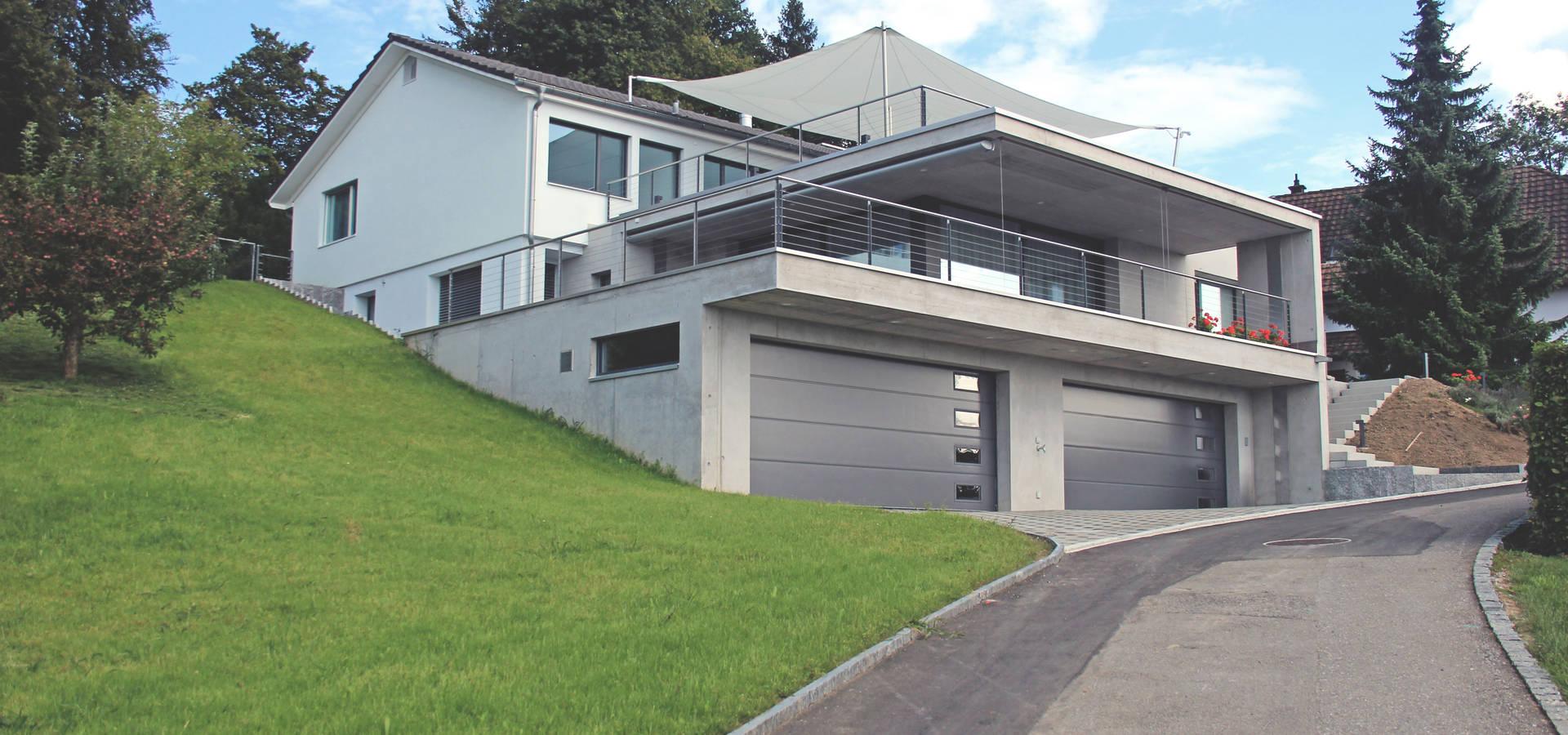 anbau einer einliegerwohnung von schweizer architekten htl. Black Bedroom Furniture Sets. Home Design Ideas